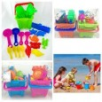 19pcs Sand Play Bucket