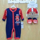 3 Piece Layette Set Go Time