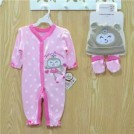 3 Piece Layette Set Pretty Monkey