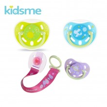 KidsMe Glow in the dark Pacifier with Clip Empeng Bayi Tali