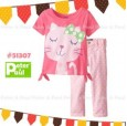 Setelan Peter & Paul - Cat Pink 51307