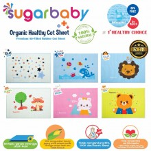 Sugar Baby Organic Healthy - Premium Air Filled Rubber Cot Sheet