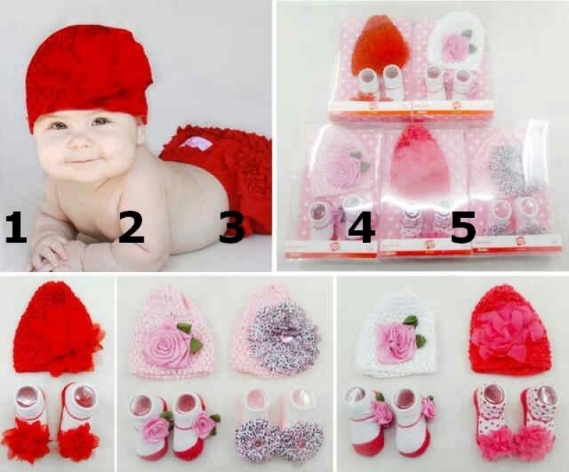 Flower Hat Set