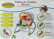 Blossomfram Infant - to -Toddler Rocker