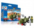 Create & Build Army Jeep 39pcs Building Blocks