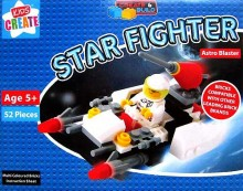 Create & Build Astro Blaster 52pcs Building Blocks