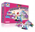 Create & Build Girls Bedroom 90pcs Building Blocks