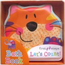 First Steps Let's Count! Squeaky Bath Book (CAT)