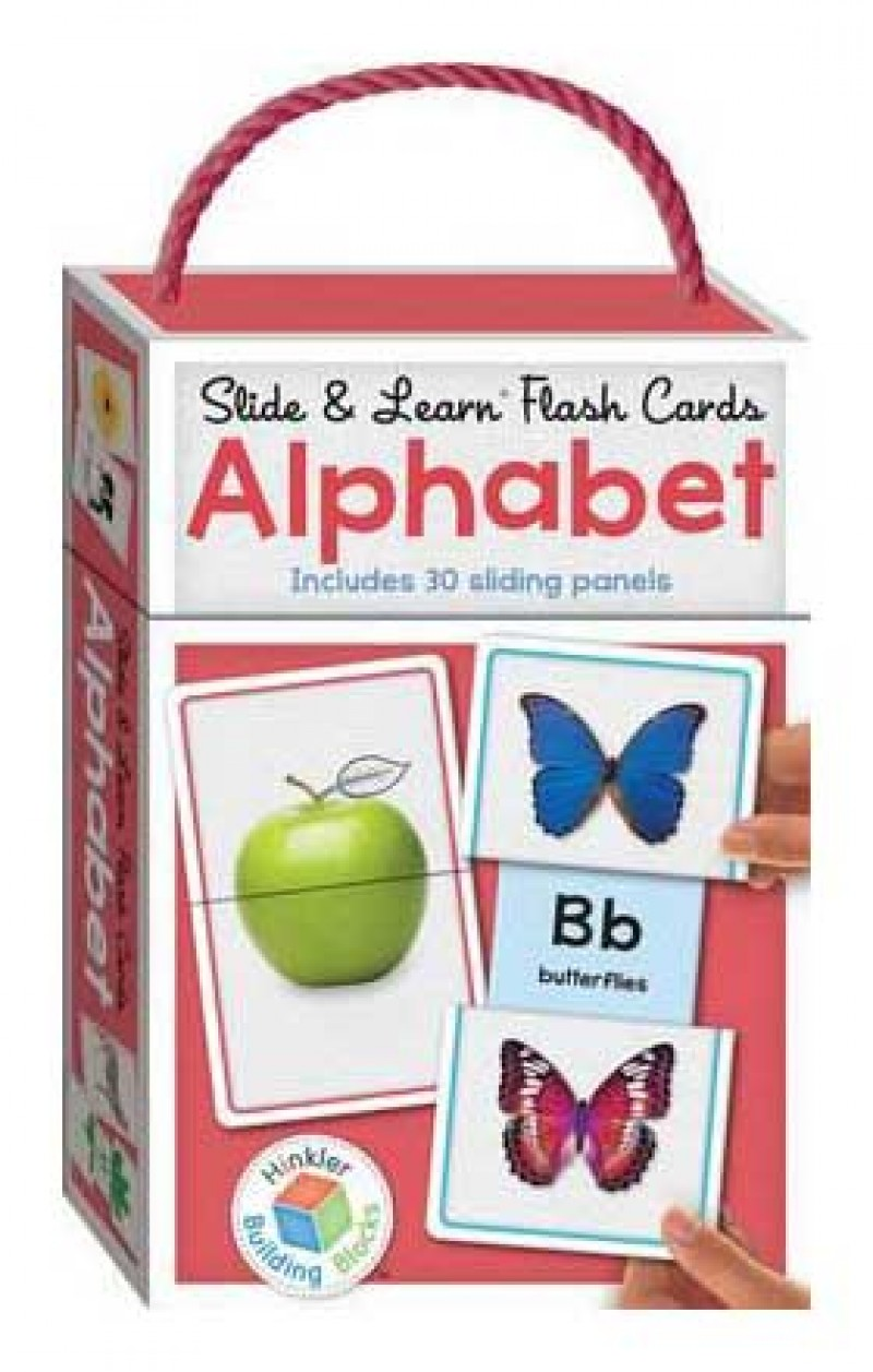 Slide & Learn Flash Cards ALPHABET