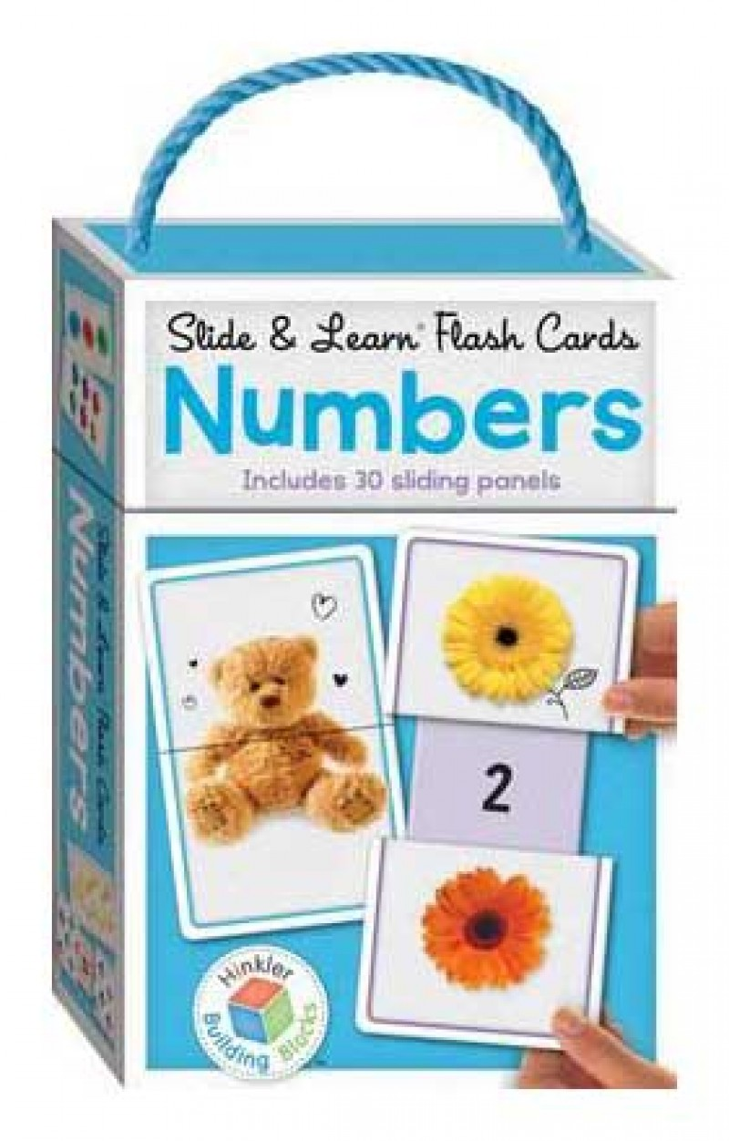 Slide & Learn Flash Cards NUMBERS