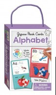 Jigsaw Flash Cards ALPHABET (wipe clean cards with jigsaws)