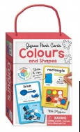 Jigsaw Flash Cards COLOURS and SHAPES (wipe clean cards with jigsaws)