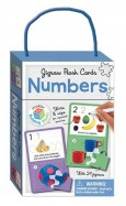Jigsaw Flash Cards NUMBERS (wipe clean cards with jigsaws)