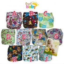 Cloth Diapers  - Royal Baby