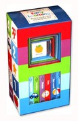 Baby Firsts EARLY LEARNING Box Set includes 6 Board Books and 6 Stacking Blocks