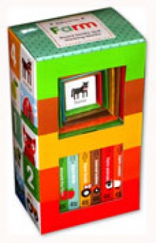 Baby Firsts FARM Box Set includes 6 Board Books and 6 Stacking Blocks
