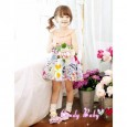 Candy Baby - Dress Pink White