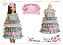 Dress Flower Kids - B