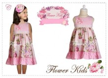 Dress Flower Kids - C
