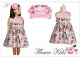 Dress Flower Kids - F