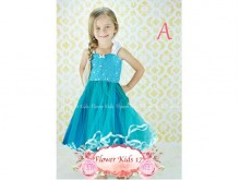 Dress Flower Kids 17 - A (Elsa)