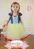 Dress Flower Kids 17 - D (Snow White)