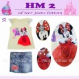 Setelan HM Kids 2 - A ( Minnie )