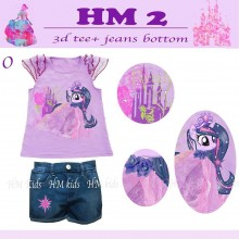 Setelan HM Kids 2 - O ( Twilight Sparkle )