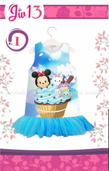 Dress JW 13 Minnie Blue  - I