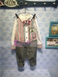 Korea Pink - Boy 3in1 Salur Red M9766