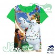 J2 Tee -Big Hero Green 1037