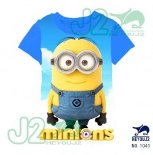 J2 Tee - Minion Navy Blue 1041