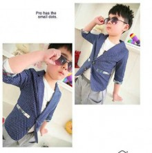 Blazer Korea - Navy Blue