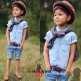HI-MM Setelan Denim Boy