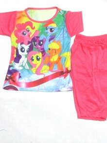 Setelan - My Little Pony Hot Pink
