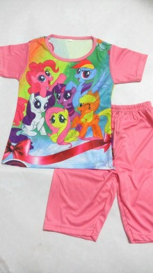 Setelan - My Little Pony Pink