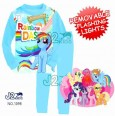 Piyama J2 - My Little Pony Blue Removable Flashing Lights 1098