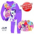 Piyama J2 - My Little Pony Purple Removable Flashing Lights 1099