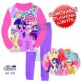 Piyama J2 - My Little Pony Purple Hot Pink Removable Flashing Lights 1101