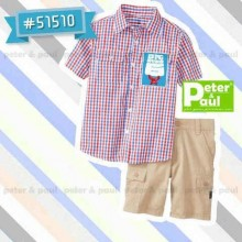 Setelan Peter & Paul - Big Hero Kotak-Kotak 51510 (Small)