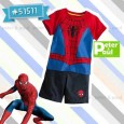 Setelan Peter & Paul - Spiderman 51511 (Small)