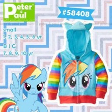 Jaket Peter & Paul - Rainbow Dash 58408