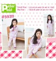 Setelan Peter & Paul - Girl Pink 59311