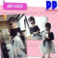 Dress Premium Pastel - Girl Navy Blue 81605