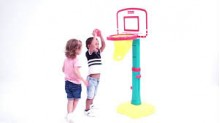 Grow'n Up Jump N Dunk Basketball