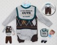 4in1 Nuby Boy Set Brown Wajik