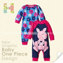 GW B3 Romper 2in1 H - Flower Rabbit
