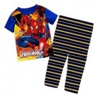 Setelan Coddleme - Spiderman Celana Garis Blue 2692
