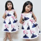 Dress Mary Jane Vintage Style - Girl Navy Blue