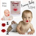 Funny Baby Pacifier - Empeng Lips 2 Motif